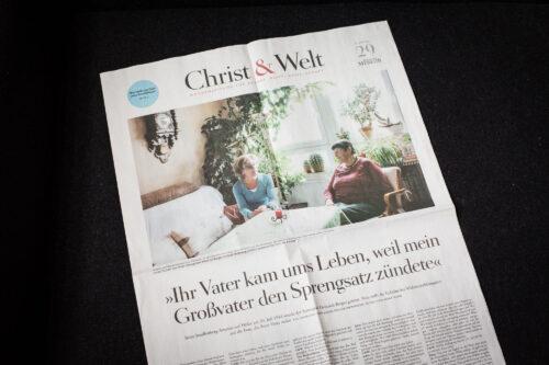 Portrait for DIE ZEIT / Christ & Welt